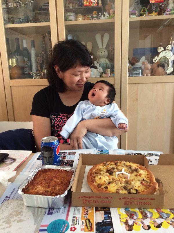 May姐十分享受工作,她認為與家長寶寶相處的每天均十分珍貴